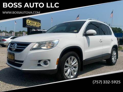 2009 Volkswagen Tiguan for sale at BOSS AUTO LLC in Norfolk VA