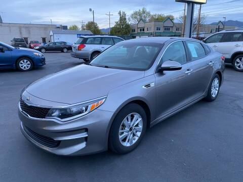 2018 Kia Optima for sale at New Start Auto in Richardson TX