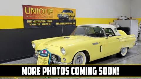 1956 Ford Thunderbird for sale at UNIQUE SPECIALTY & CLASSICS in Mankato MN