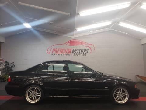 2003 BMW 5 Series for sale at Premium Motors in Villa Park IL