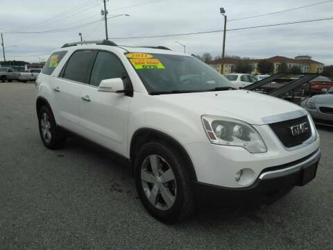 2011 GMC Acadia for sale at Kelly & Kelly Supermarket of Cars in Fayetteville NC