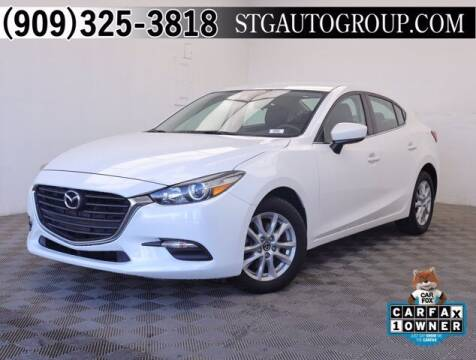2018 Mazda MAZDA3 for sale at STG Auto Group in Montclair CA