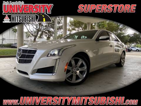 2014 Cadillac CTS for sale at University Mitsubishi in Davie FL