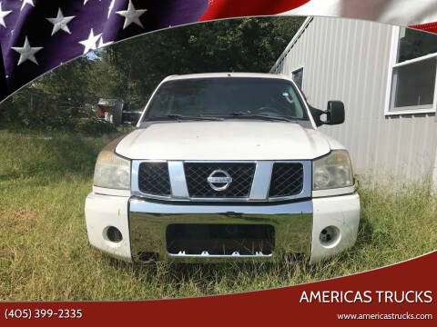 2006 Nissan Titan for sale at Americas Trucks in Jones OK