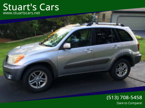 2004 Toyota RAV4 for sale at Stuart's Cars in Cincinnati OH