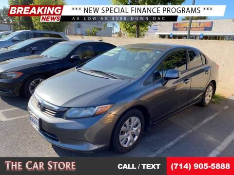 2012 Honda Civic for sale at The Car Store in Santa Ana CA
