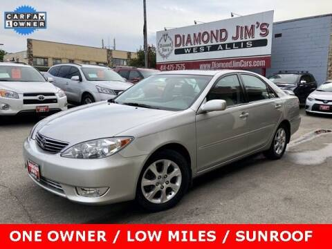 2005 Toyota Camry for sale at Diamond Jim's West Allis in West Allis WI
