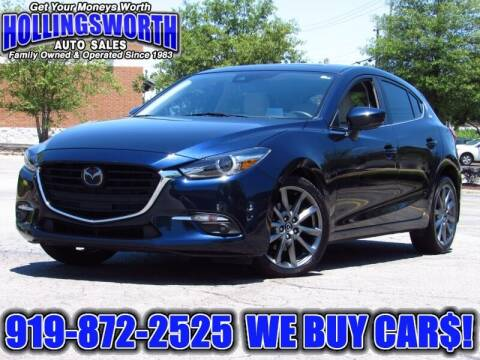 2018 Mazda MAZDA3 for sale at Hollingsworth Auto Sales in Raleigh NC