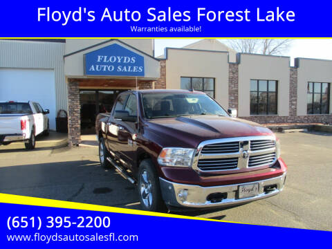 2017 RAM Ram Pickup 1500 for sale at Floyd's Auto Sales Forest Lake in Forest Lake MN