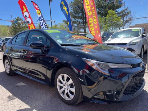 2021 Toyota Corolla for sale at Duke City Auto LLC in Gallup NM