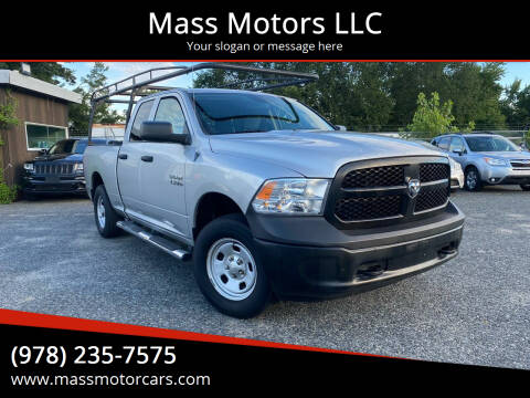 2013 RAM Ram Pickup 1500 for sale at Mass Motors LLC in Worcester MA