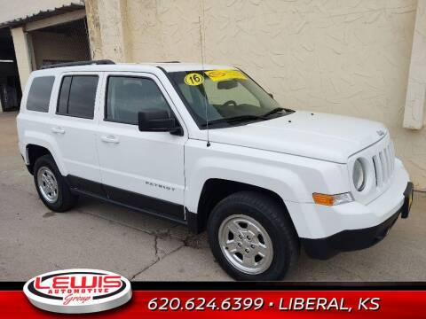 2016 Jeep Patriot for sale at Lewis Chevrolet Buick of Liberal in Liberal KS