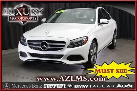 2016 Mercedes-Benz C-Class for sale at Luxury Motorsports in Phoenix AZ