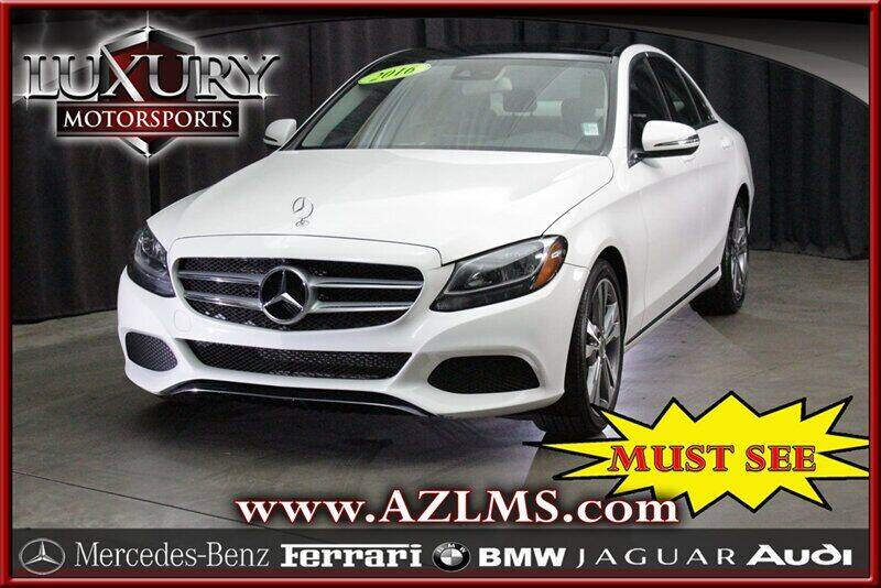 2016 Mercedes-Benz C-Class for sale at Luxury Motorsports in Phoenix AZ