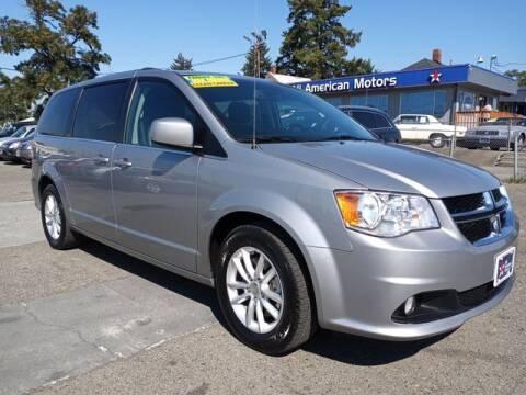 2018 Dodge Grand Caravan for sale at All American Motors in Tacoma WA