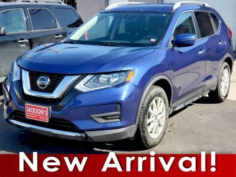 2018 Nissan Rogue for sale at Jacksons Car Corner Inc in Hastings NE