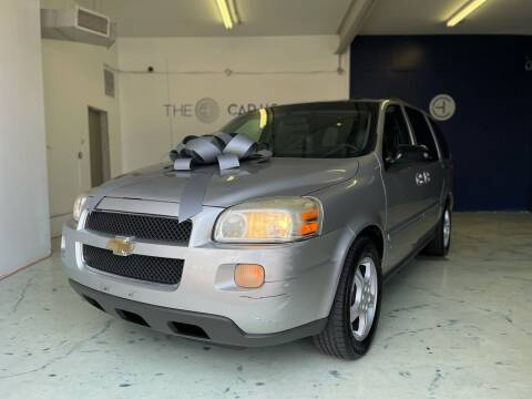 2007 Chevrolet Uplander for sale at The Car House of Garfield in Garfield NJ