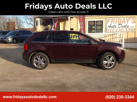 2011 Ford Edge for sale at Fridays Auto Deals LLC in Oshkosh WI