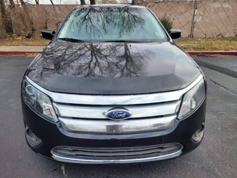 2012 Ford Fusion for sale at Crispin Auto Sales in Urbana IL
