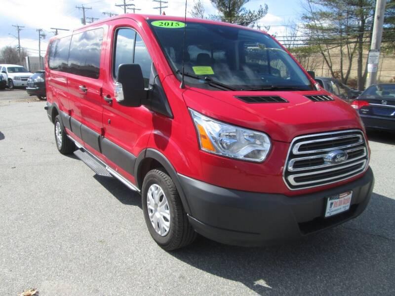 2015 Ford Transit Passenger 350 XLT 3dr LWB Low Roof Passenger Van w/60/40 Passenger Side Doors - Lowell MA