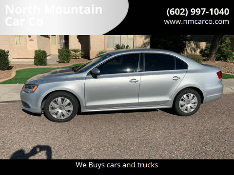 2013 Volkswagen Jetta for sale at North Mountain Car Co in Phoenix AZ