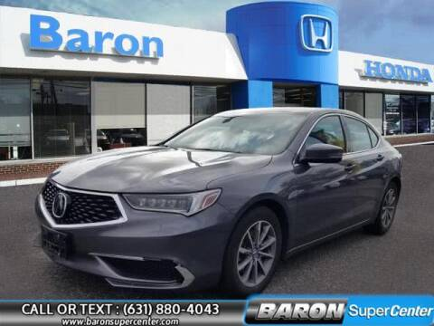 2018 Acura TLX for sale at Baron Super Center in Patchogue NY