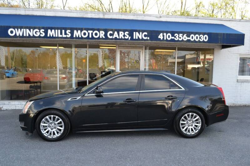 2012 Cadillac CTS for sale at Owings Mills Motor Cars in Owings Mills MD