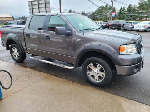 2006 Ford F-150 for sale at Rum River Auto Sales in Cambridge MN