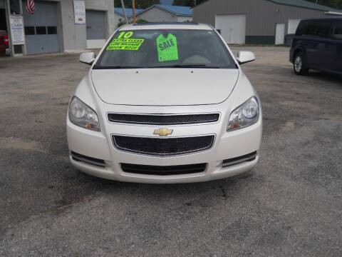 2010 Chevrolet Malibu for sale at Shaw Motor Sales in Kalkaska MI