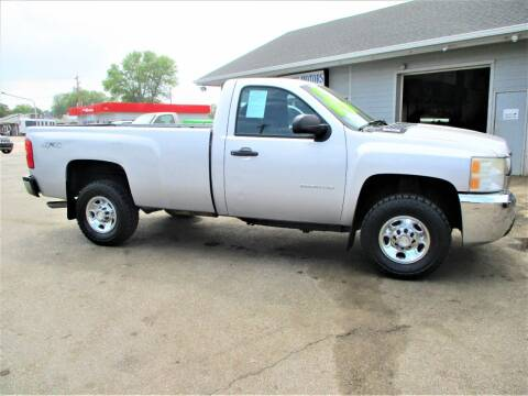 2010 Chevrolet Silverado 2500HD for sale at Steffes Motors in Council Bluffs IA