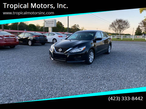 2017 Nissan Altima for sale at Tropical Motors, Inc. in Riceville TN