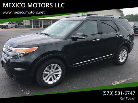 2014 Ford Explorer for sale at MEXICO MOTORS LLC in Mexico MO