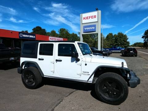 2018 Jeep Wrangler JK Unlimited for sale at Kiefer Nissan Budget Lot in Albany OR