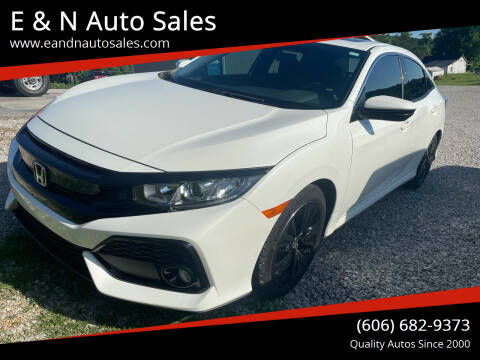 2019 Honda Civic for sale at E & N Auto Sales in London KY