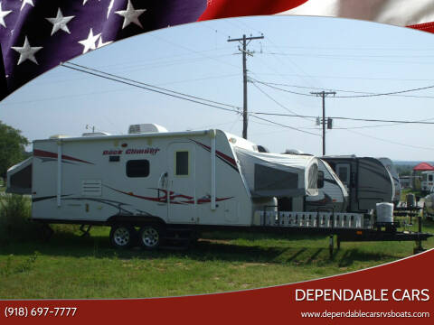 2010 KZ 222 TOY HAULER **ROCK CLIMBER** for sale at DEPENDABLE CARS in Mannford OK