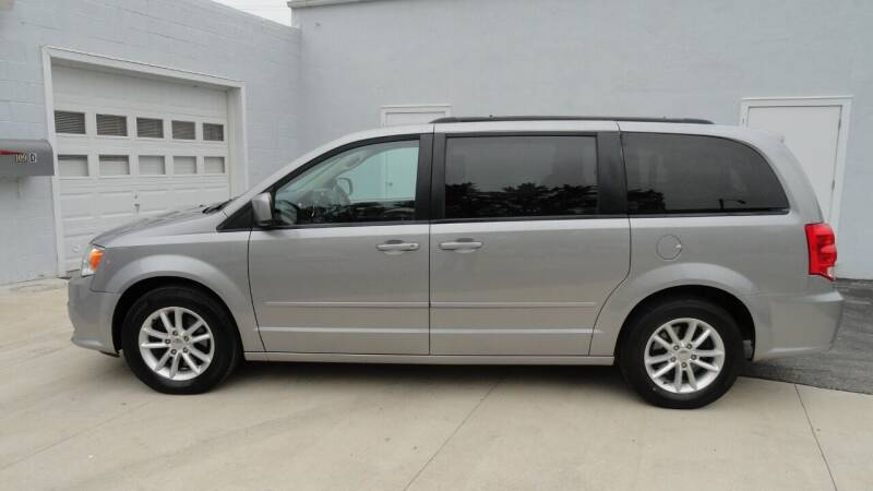 2016 Dodge Grand Caravan for sale at WRIGHT'S in Hillsboro KS