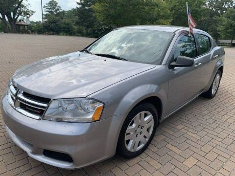 2014 Dodge Avenger for sale at JES Auto Sales LLC in Fairburn GA