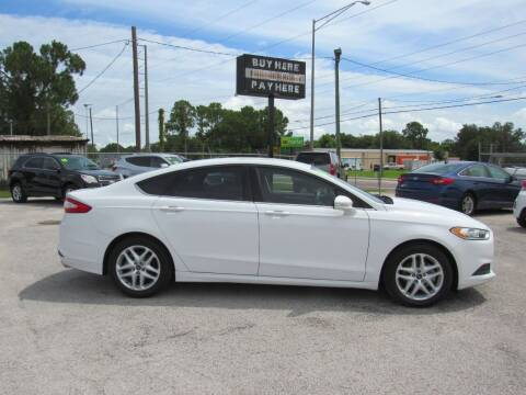 2014 Ford Fusion for sale at Checkered Flag Auto Sales EAST in Lakeland FL