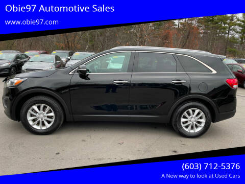 2017 Kia Sorento for sale at Obie97 Automotive Sales in Londonderry NH