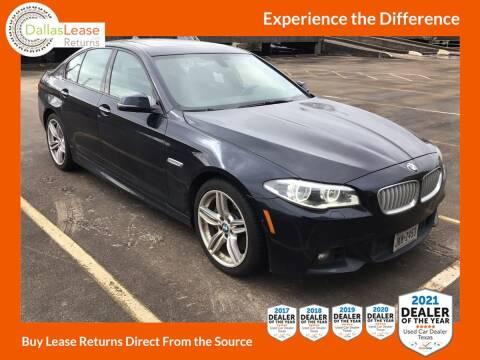 2014 BMW 5 Series for sale at Dallas Auto Finance in Dallas TX