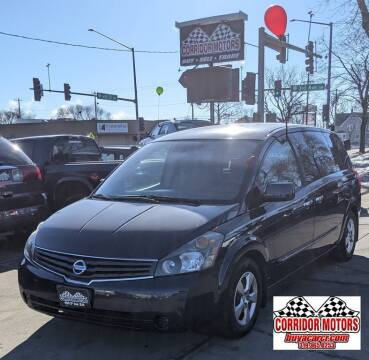 2009 Nissan Quest for sale at Corridor Motors in Cedar Rapids IA