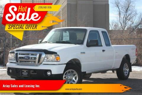2010 Ford Ranger for sale at Ariay Sales and Leasing Inc. in Denver CO
