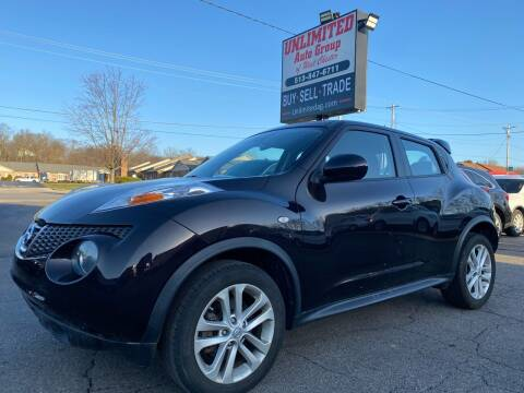 2014 Nissan JUKE for sale at Unlimited Auto Group in West Chester OH
