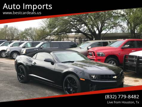 2011 Chevrolet Camaro for sale at Auto Imports in Houston TX