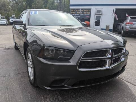 2013 Dodge Charger for sale at GREAT DEALS ON WHEELS in Michigan City IN