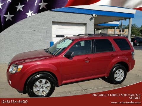 2011 Mercury Mariner for sale at Motor City Direct Auto Sales & Service in Pontiac MI