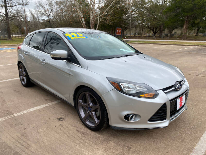 2014 Ford Focus for sale at B & M Car Co in Conroe TX