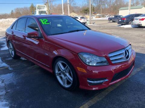 2012 Mercedes-Benz C-Class for sale at I-80 Auto Sales in Hazel Crest IL
