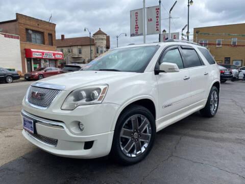 2011 GMC Acadia for sale at Latino Motors in Aurora IL