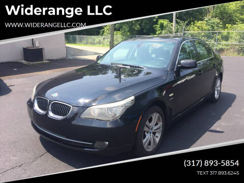 2009 BMW 5 Series for sale at Widerange LLC in Greenwood IN
